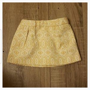 **5 for $15** Baby Girl Skirt Gold Adjustable